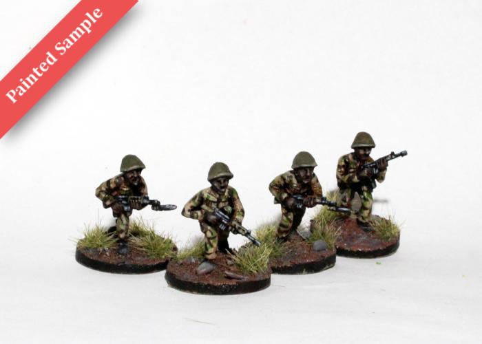 African Riflemen - Advancing