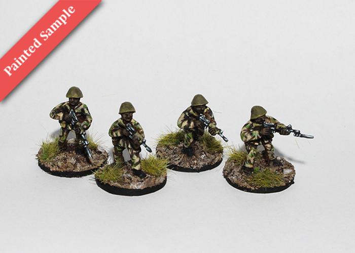 African Riflemen - Skirmishing