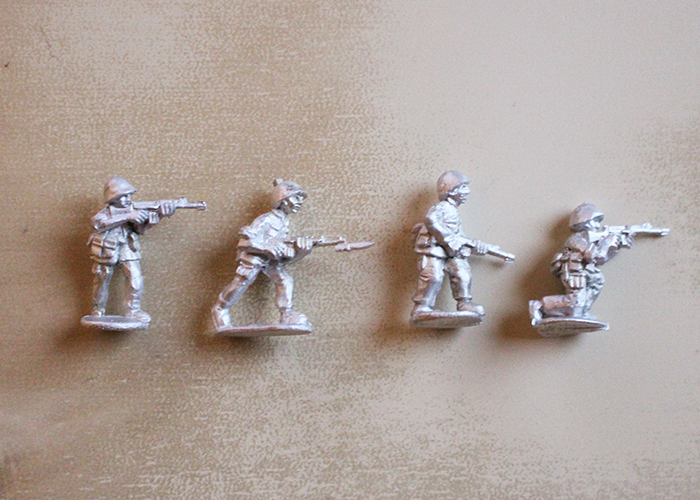 African Riflemen with G3 - Skirmishing
