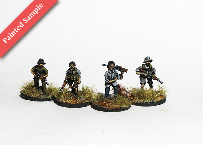 Armed European Settlers