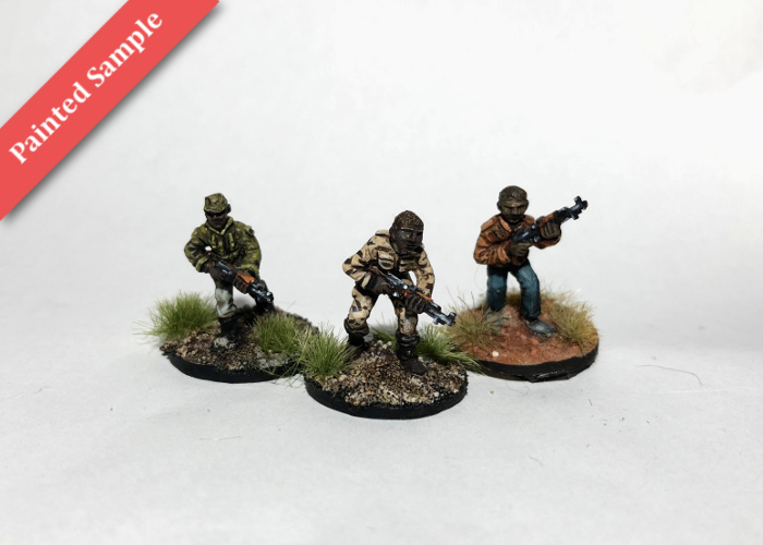 African Irregulars with SKS Rifles