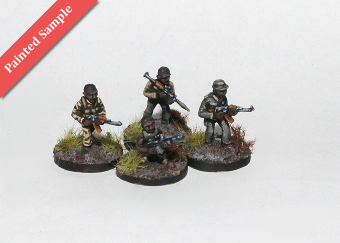African Irregulars with Support Weapons