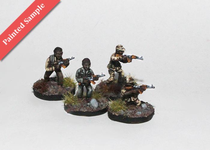 African Irregulars with AK - Skirmishing