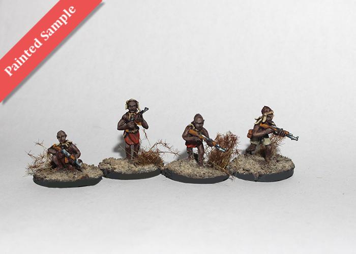 African Tribal Warriors - Skirmishing