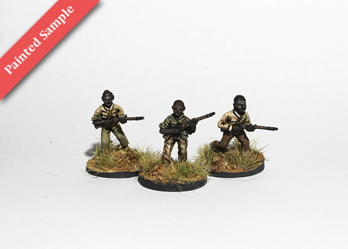 African Irregulars with Obsolete Rifles