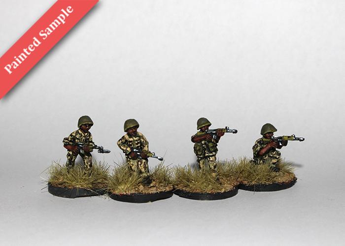 African Riflemen with FN FAL - Skirmishing