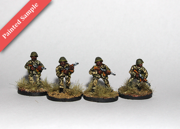 African Riflemen with AK - Skirmishing