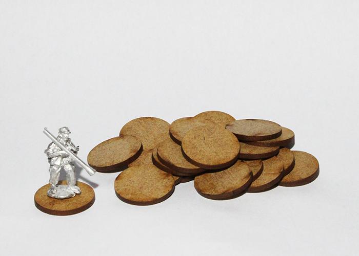 20x Miniature Bases (20mm)