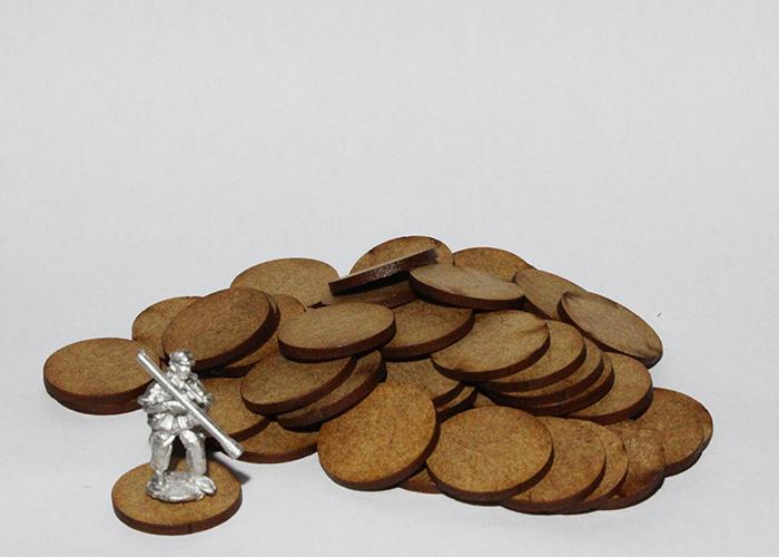 50x Miniature Bases (20mm)