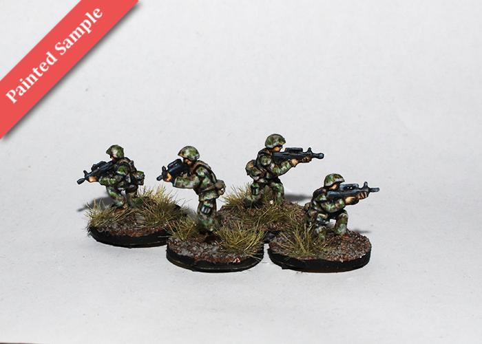 Chinese Riflemen - Firing
