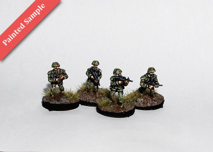 Chinese Riflemen - Advancing