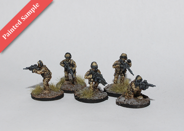KSK Commandos in Light Gear