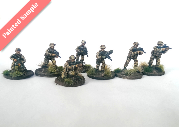 French Infantry Squad - Groupe de Voltige