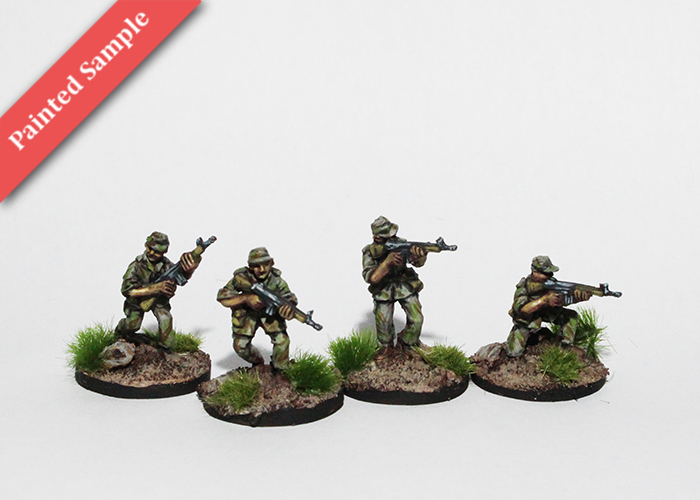 Portuguese Colonial Infantry with G3