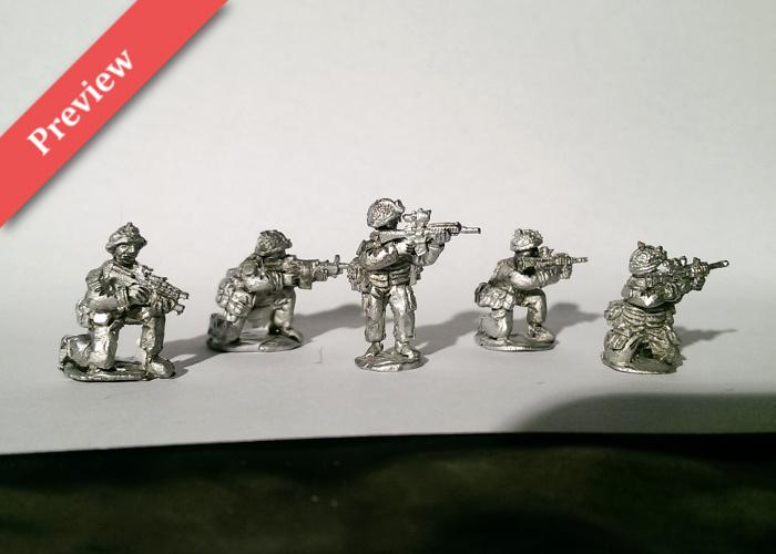 British Infantry Fireteam