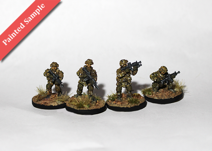 US Infantry Fireteam