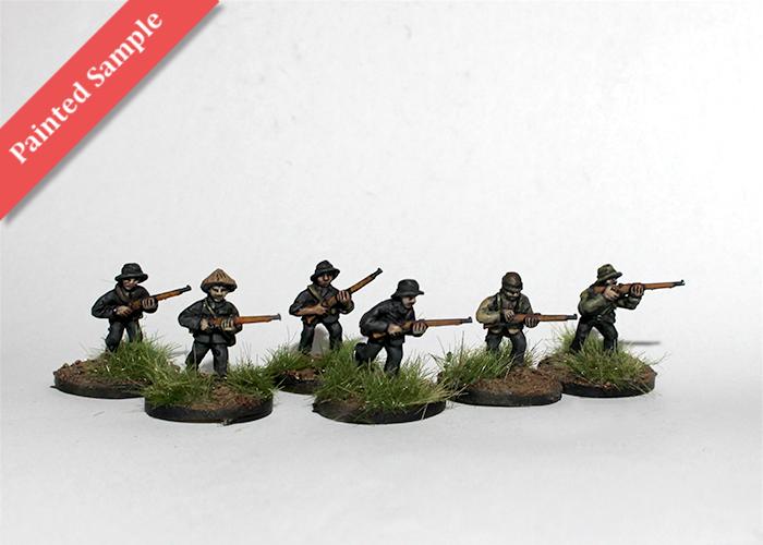Vietcong with Mosing Nagant Rifles